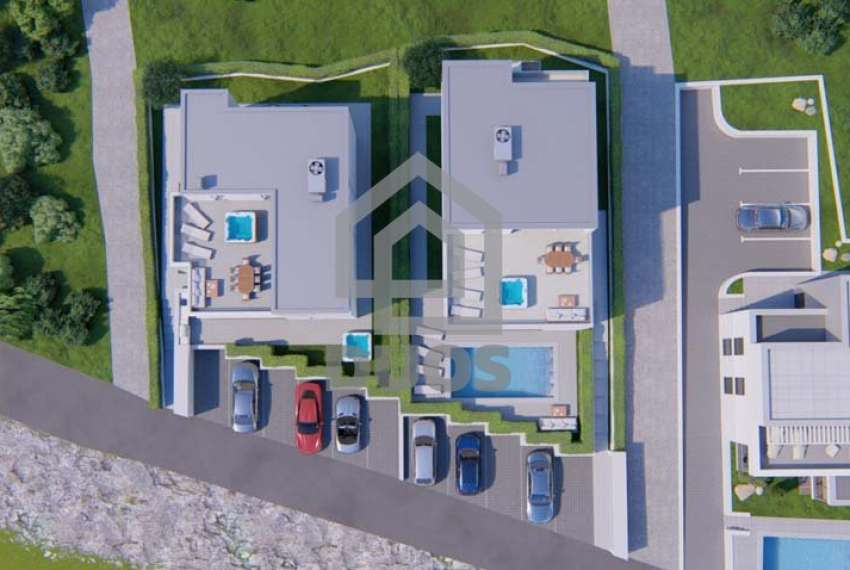 Murter - new building - top location with garden - first row to the sea 9