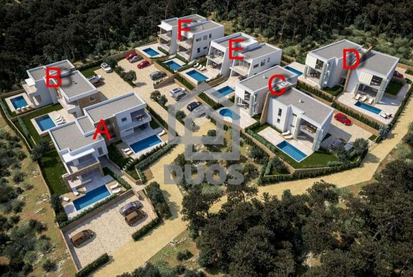 Novogradnja - Murter - dvije spavaće - pogled - parking - 1.kat 1