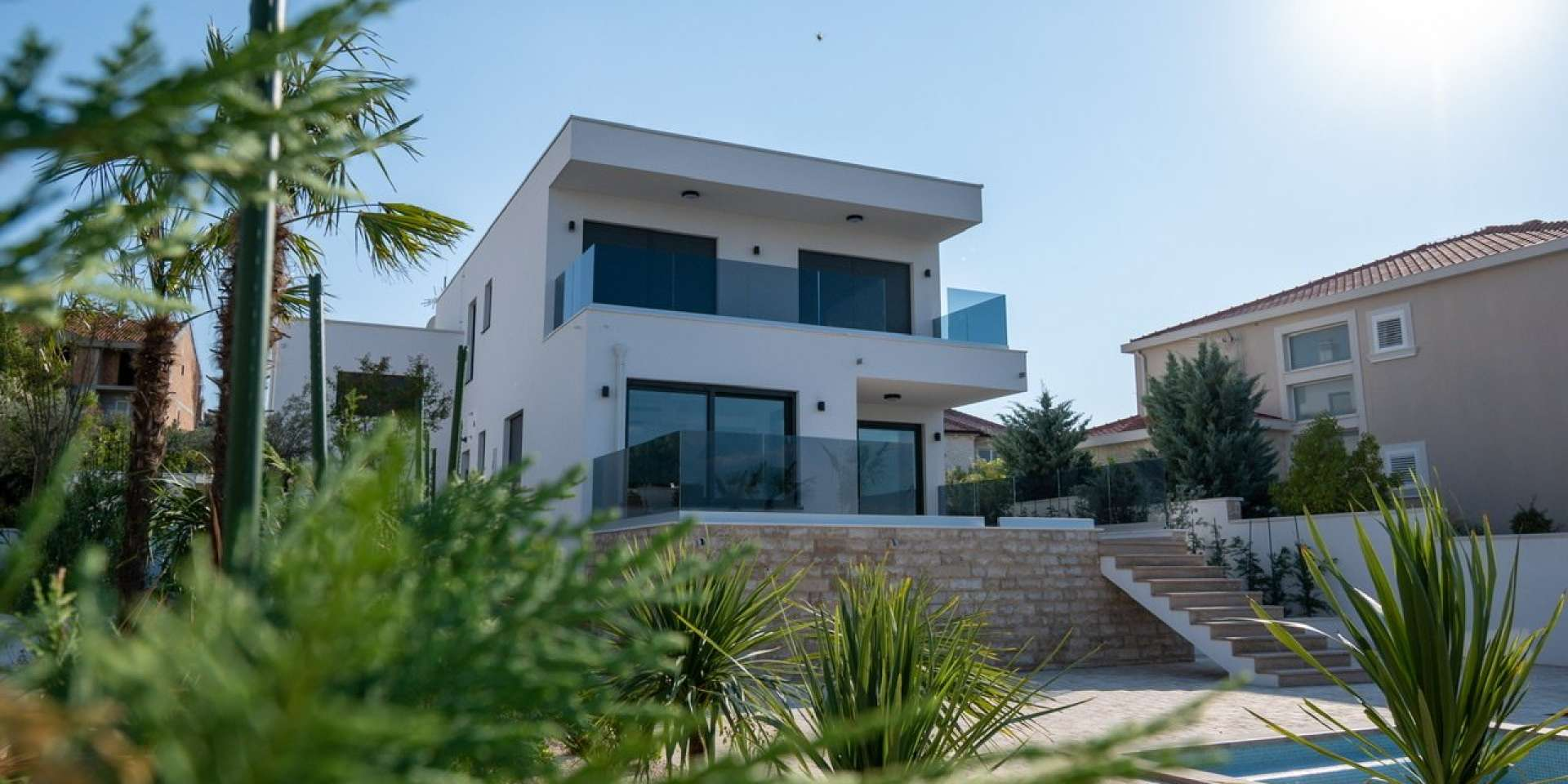 Luxury villa - Murter - swimming pool - sea view 305m2