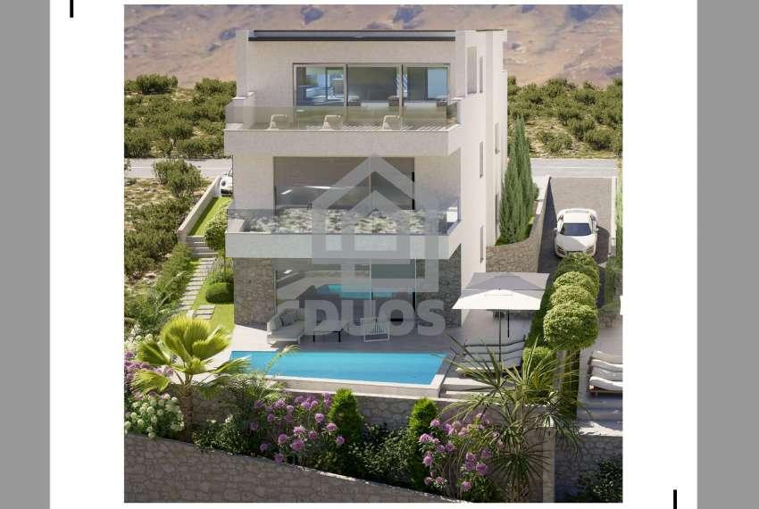 Novogradnja - stan s tri spavaće sobe - blizina plaže - Murter 5