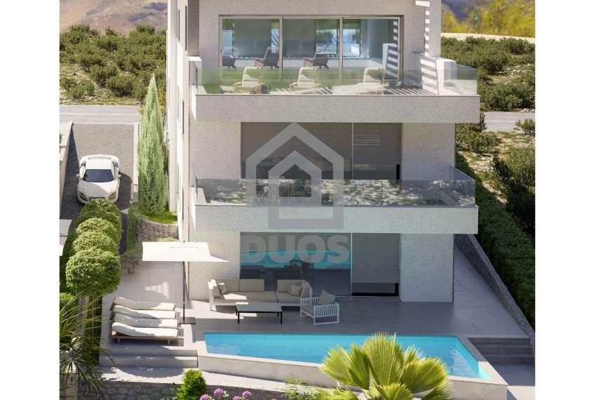 Novogradnja - apartman s dvije spavaće sobe - blizina plaže - Murter - vrt 3