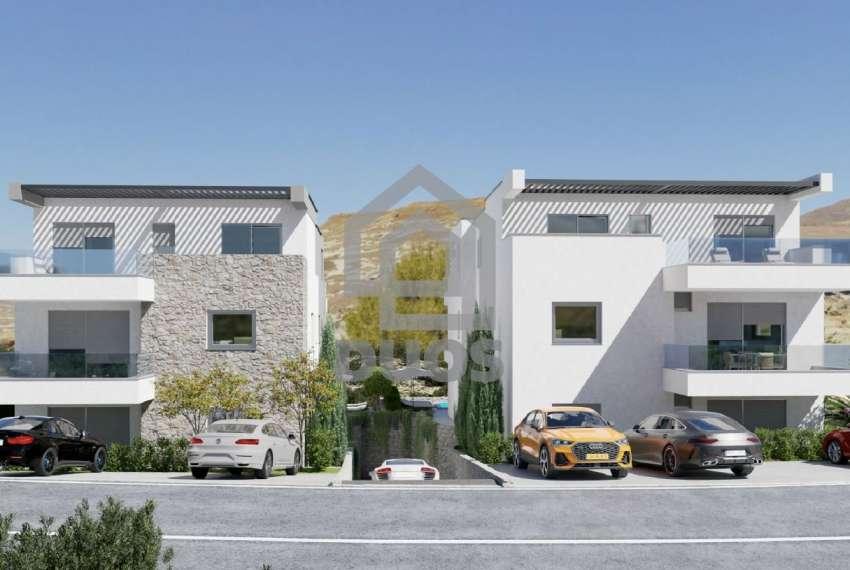 Novogradnja - apartman s dvije spavaće sobe - blizina plaže - Murter - vrt 5