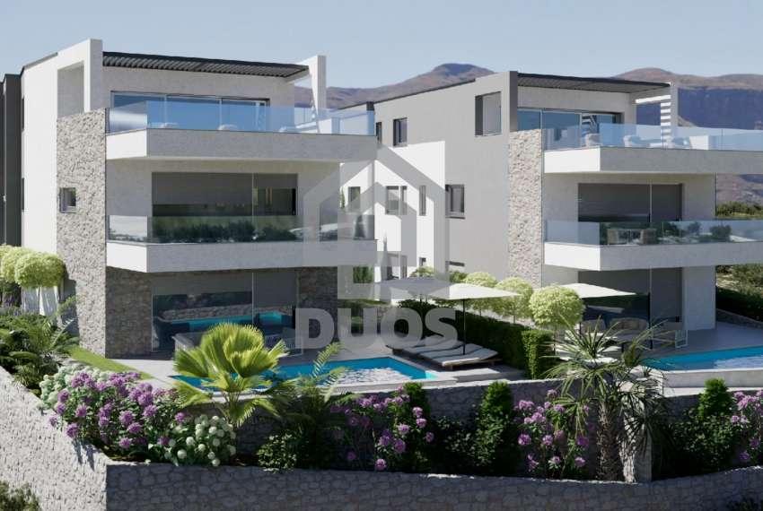 Novogradnja - stan s tri spavaće sobe - blizina plaže - Murter 4
