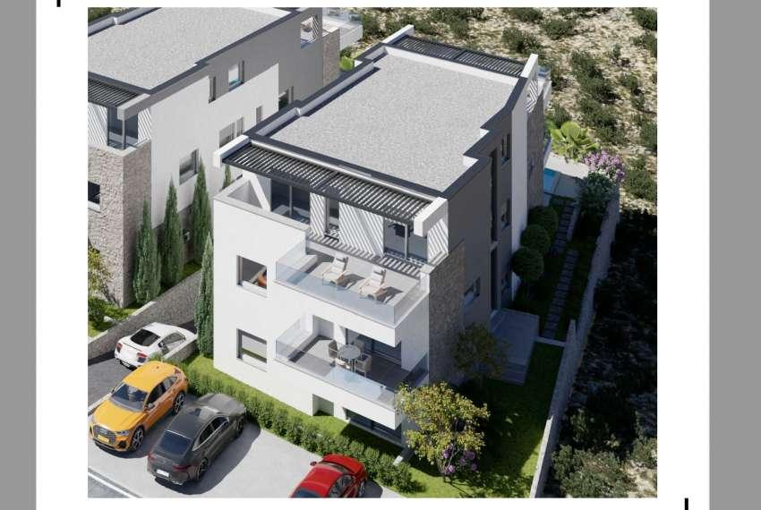 Novogradnja - stan s tri spavaće sobe - blizina plaže - Murter 2