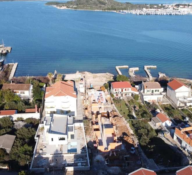 NOVOGRADNJA - penthaus- pogled panorama na more - 3 spavaće sobe - Murter
