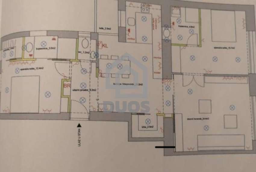 Renoviran atraktivan stan u centru Zagreba - 2SS - kompletno uređen 2