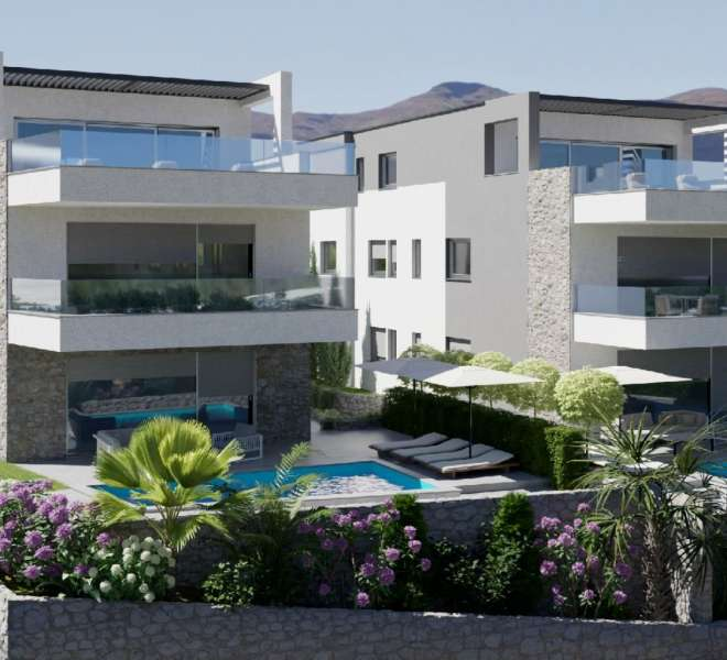 New building - three bedroom apartment - close to the beach - Murter