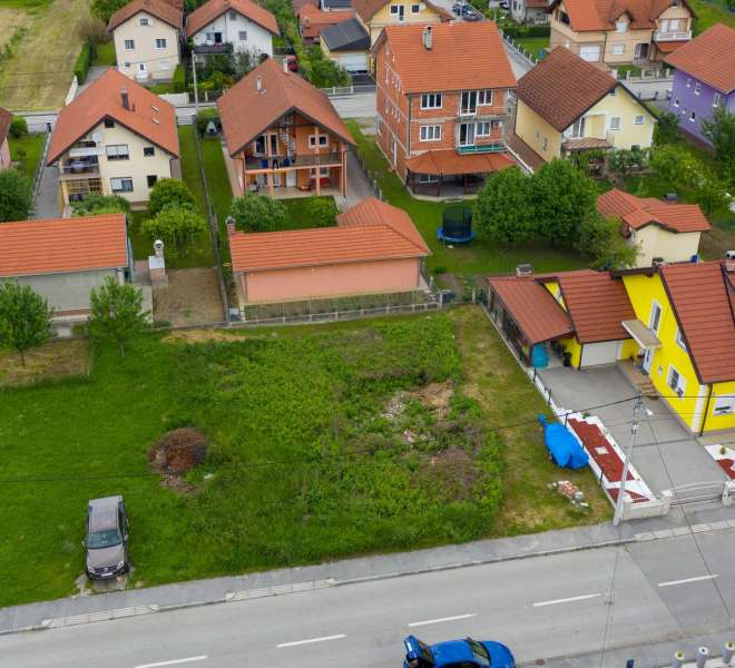 Građevinsko zemljište u mirnom dijelu Zagreba - 485m2